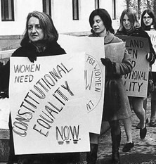 the issues of feminism in the sterilization of women While white feminists organized around abortion, many chicana and native american activists organized around the issue of ending sterilization abuse chicanas in western states and native american women on reservations experienced forced sterilization in the late 1960s and early 1970s that involved.