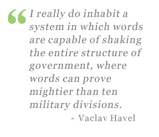 Vaclav Havel quote