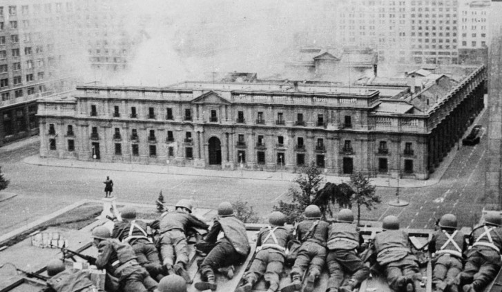 Presidential Palace, Santiago: September 11, 1973