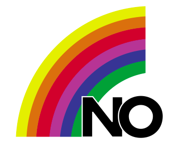 The symbol of the campaign for the No
