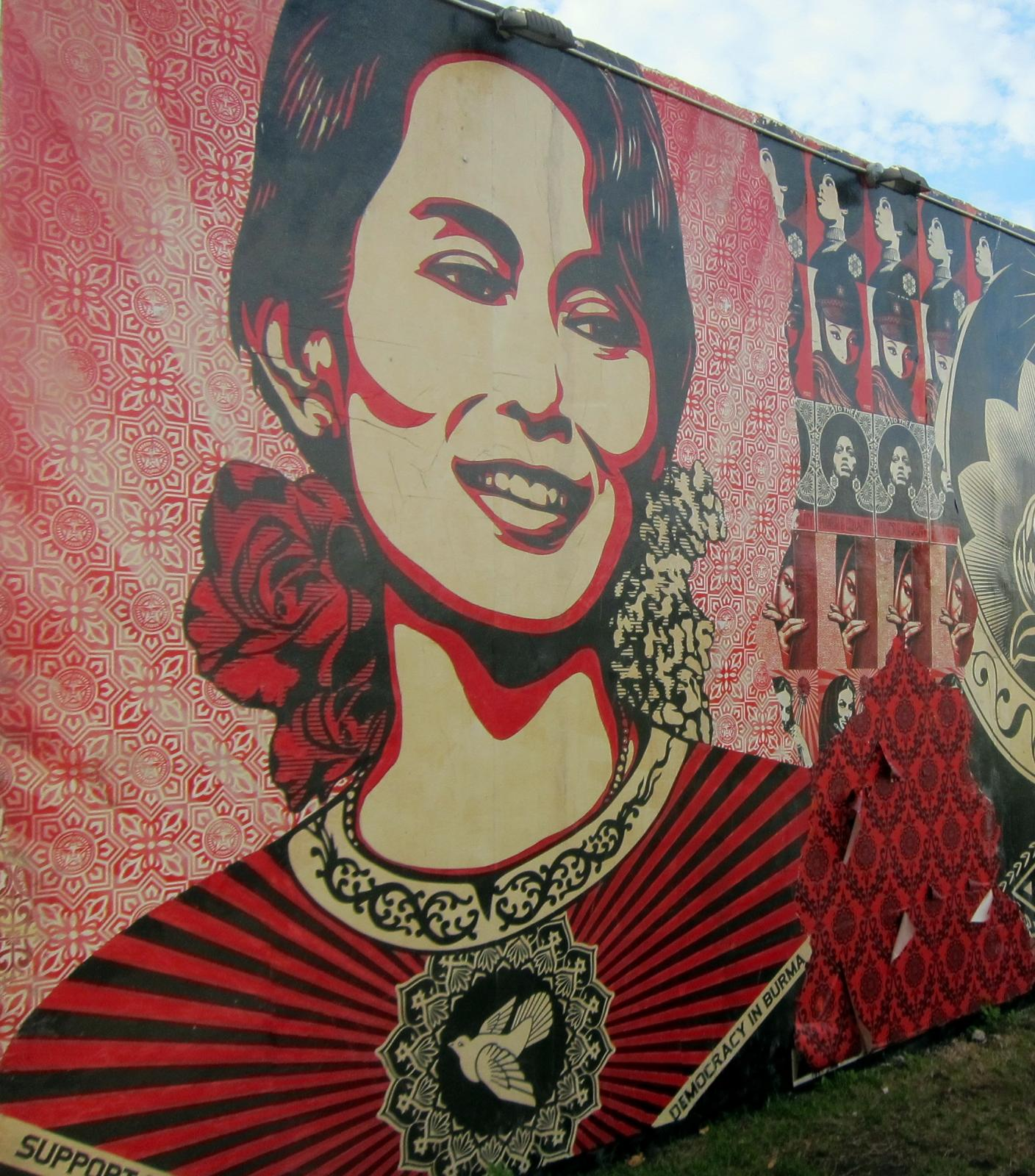 aung san suu kyi leading the burmese democracy movement tavaana nearly two full decades spent under house arrest have not deterred suu kyi from her path towards a democratic burma following her release in 2010